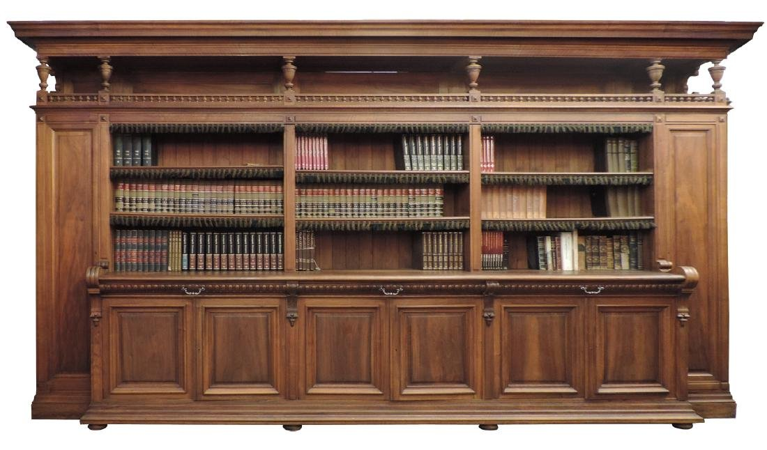 French bookcase from a notary's office from Paris - 6