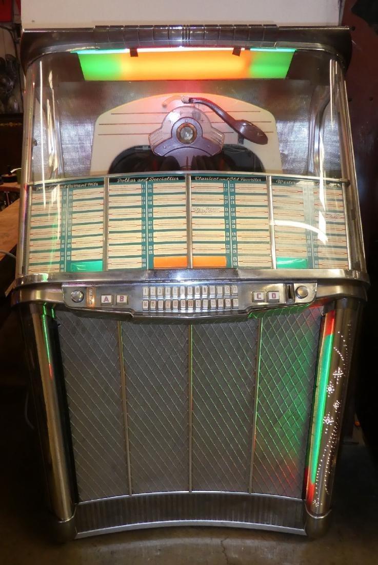 1953 Wurlitzer jukebox model 2104