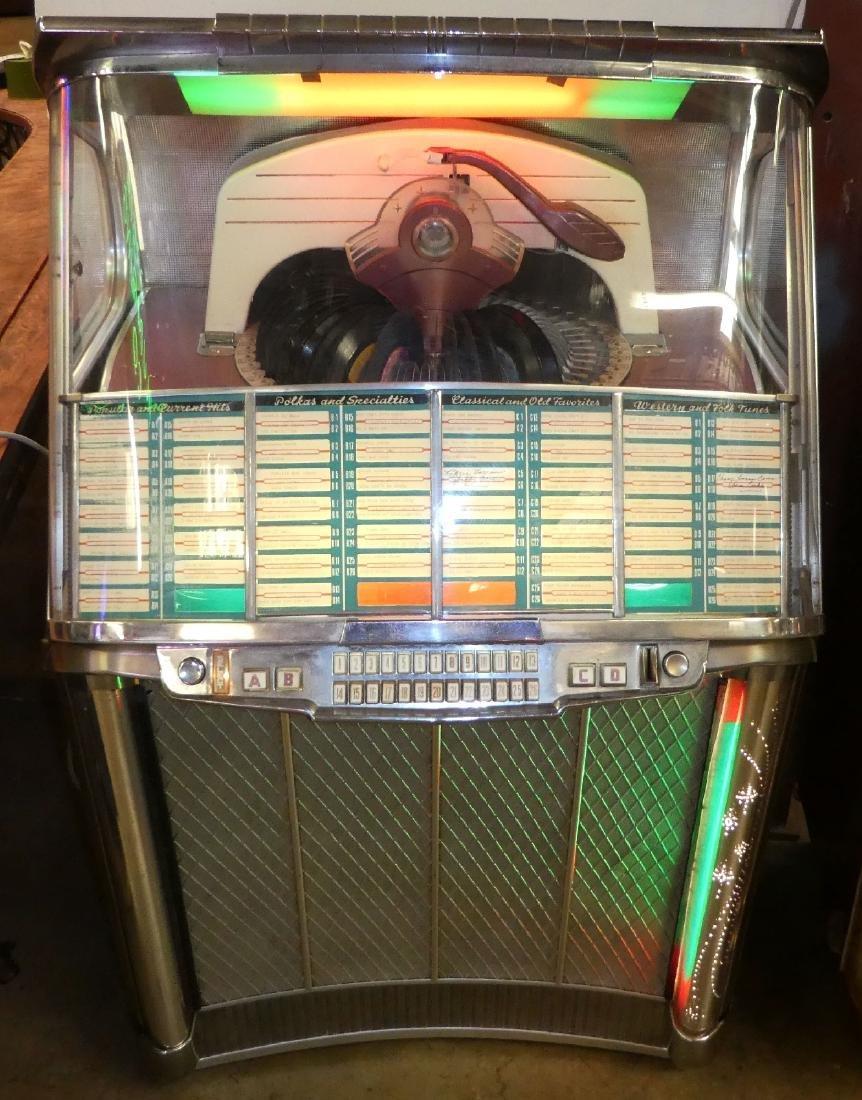 1953 Wurlitzer jukebox model 2104 - 3