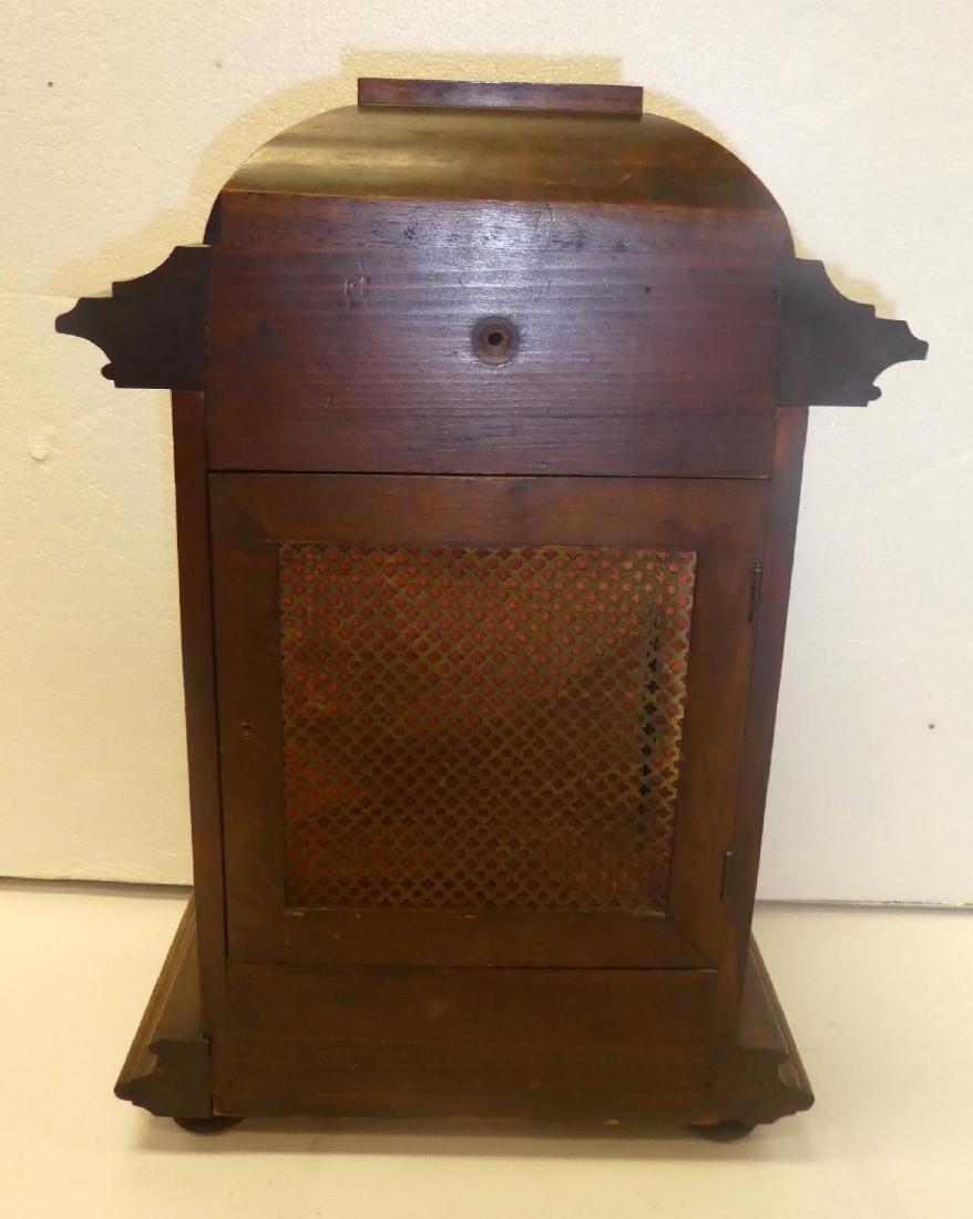 German bracket clock in Art Nouveau case - 2