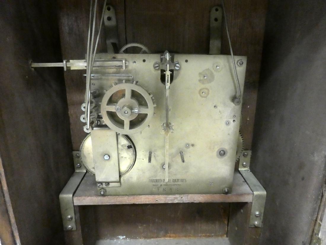 German bracket clock in Art Nouveau case - 4