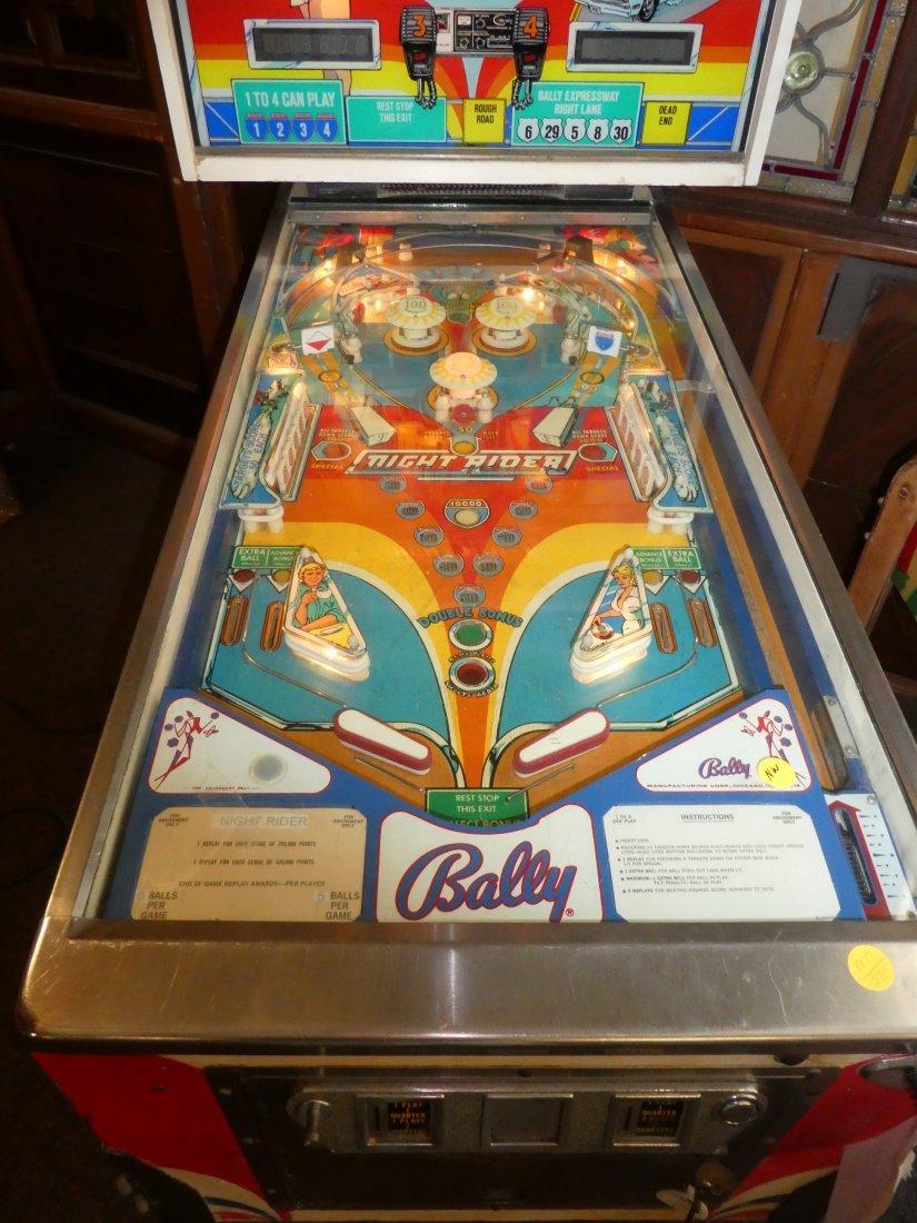 Bally Night Rider pinball machine - 2