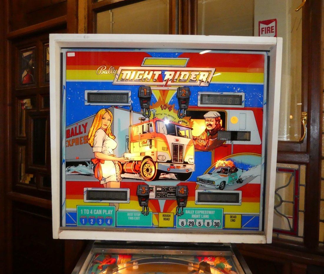 Bally Night Rider pinball machine - 3