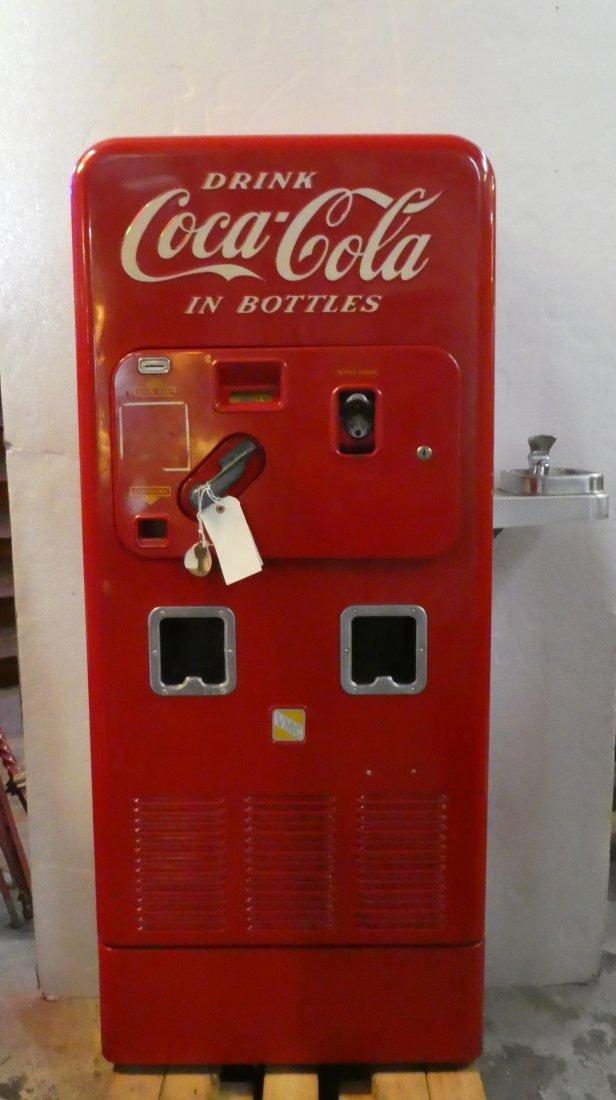 Vendo model 72 Coke machine with fountain