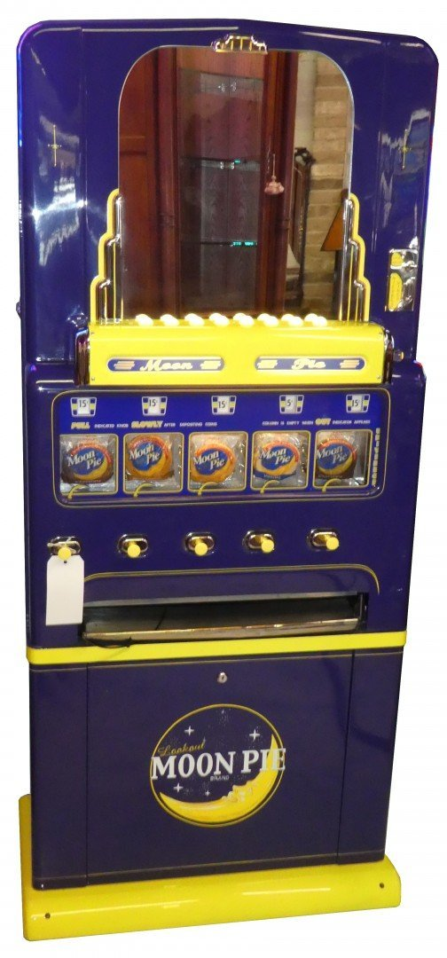 Restored Moon pie vending machine
