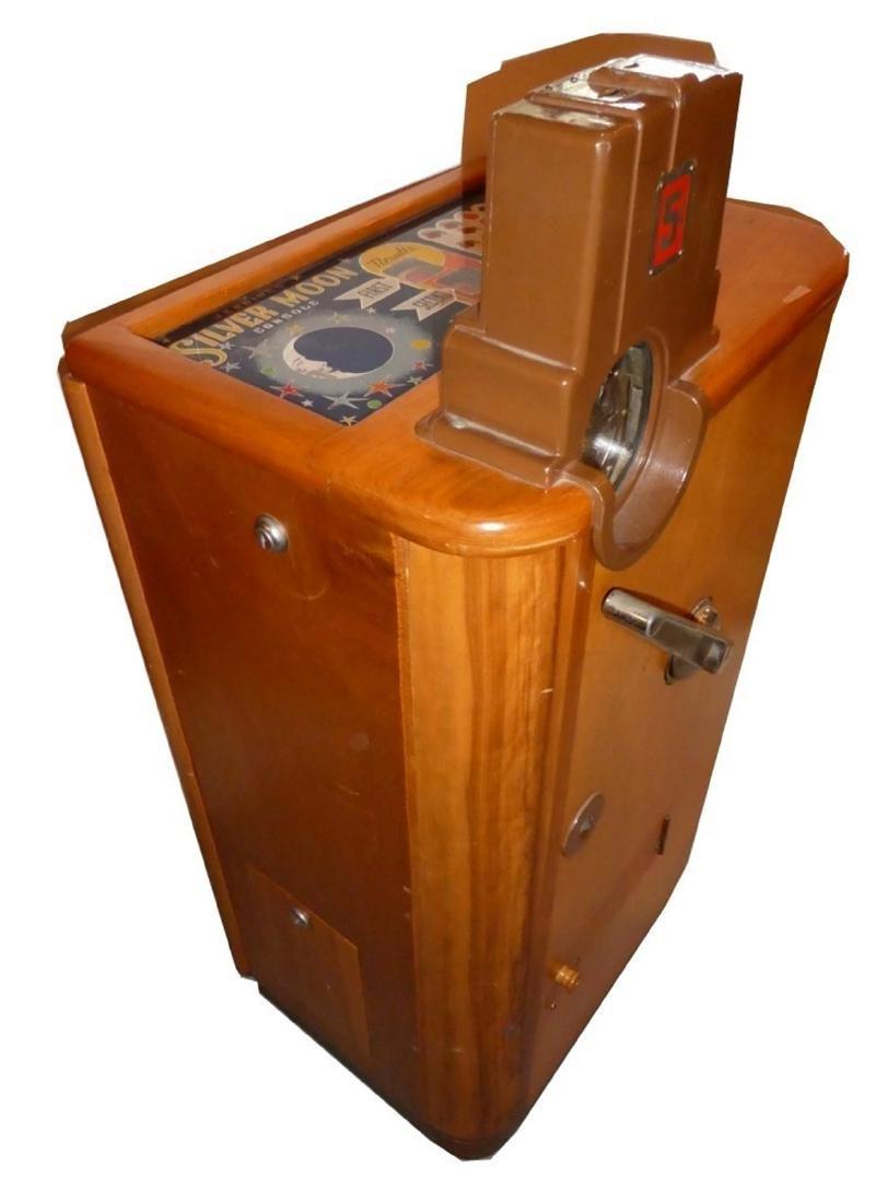 Jenning's Silver Moon 5cent floor console slot machine