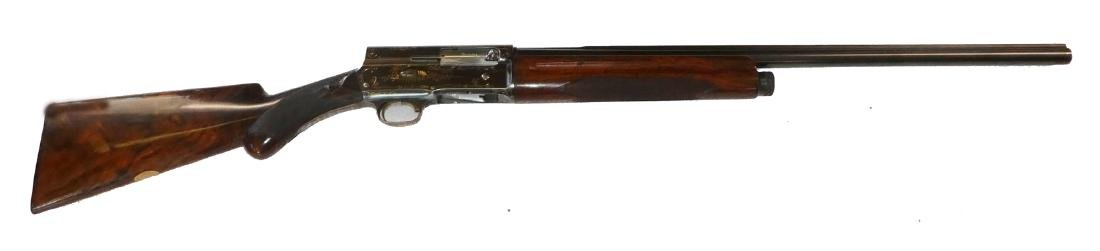 Browning 16 gauge engraved Golden Belgium shotgun