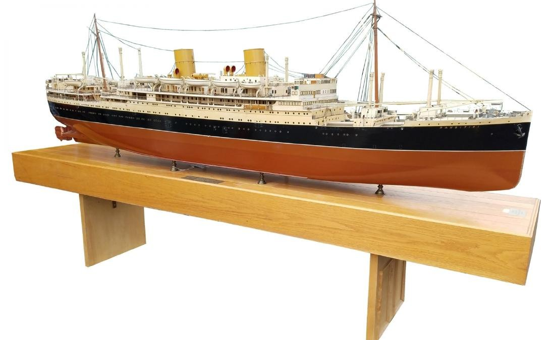 Ship Builder's model of the RMS Rangitiki