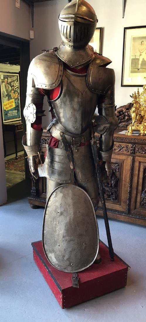Full size suit of armor