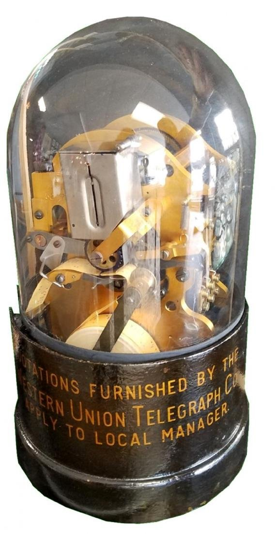 Thomas Edison Western Union stock ticker
