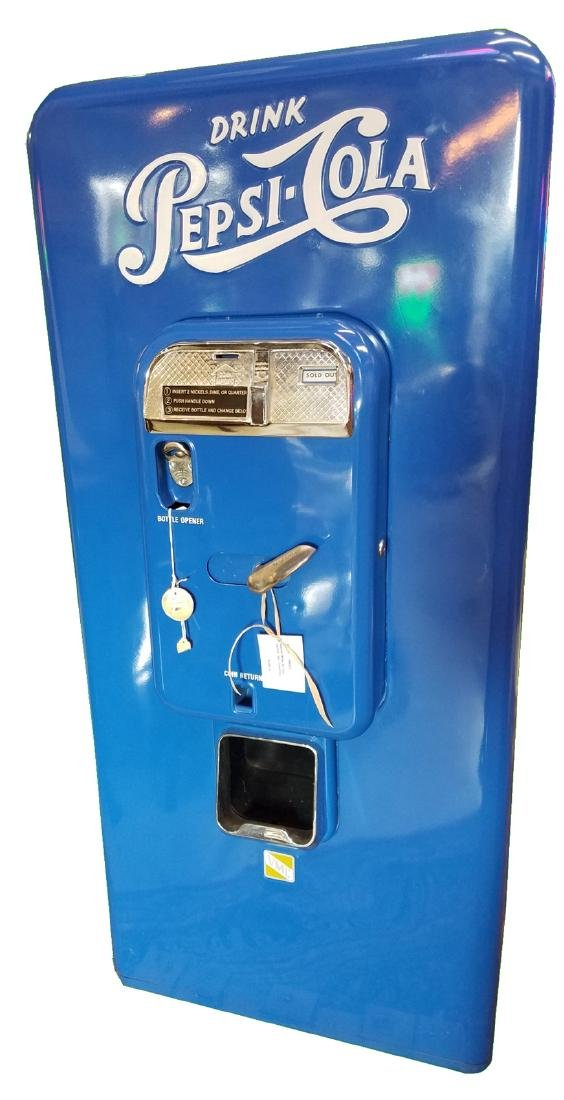 Restored Pepsi 88 vending machine
