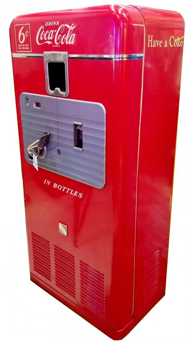 Vendo 27A 6 cent semi-restored Coke machine