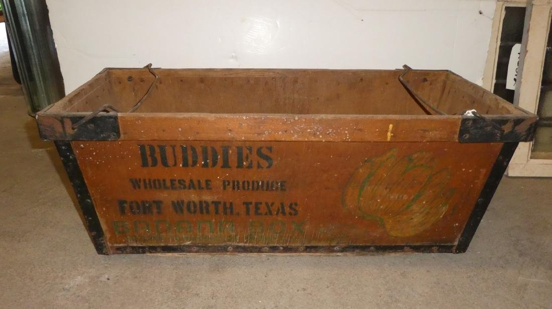 Antique Banana crate