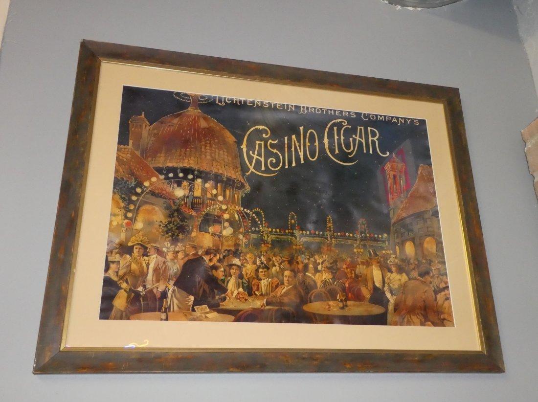 Casino cigar poster