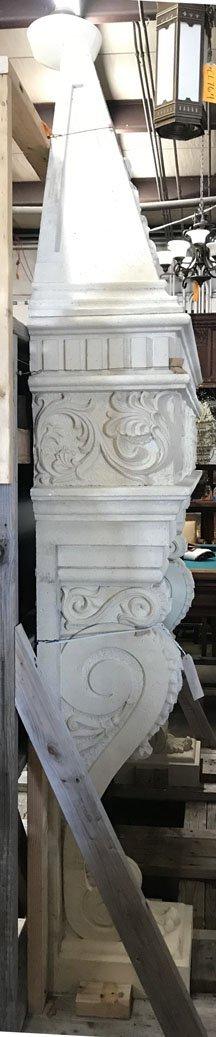 Gothic Style Stone Mantel - 2