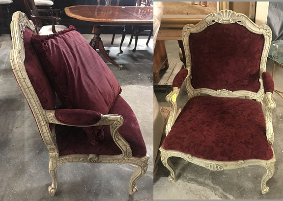 Pair of Louis XV Style Chairs