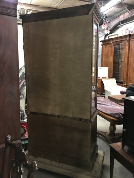 Double Door Glass Front China Cabinet - 2