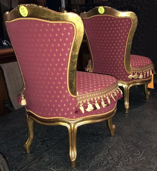 Pair of Louis XV Style Chairs - 2