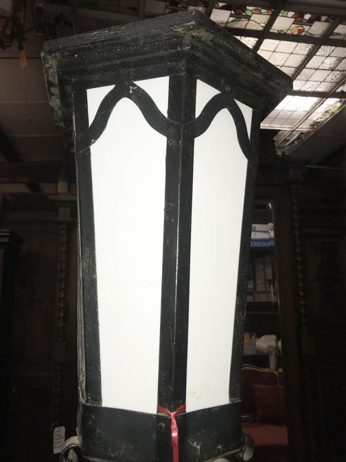 Pair of Wrought Iron Gothic Lights - 2
