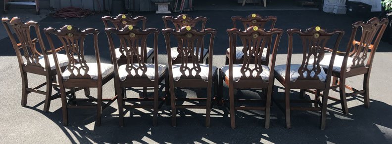 Set of 10 Baker Dining Chairs - 2