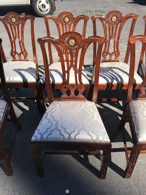 Set of 10 Baker Dining Chairs - 3