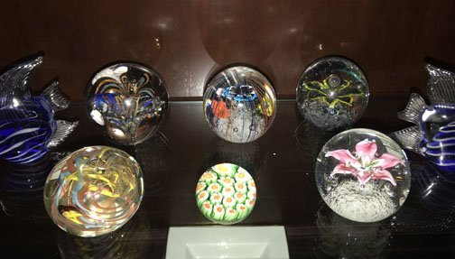 Lot of Paperweights - 3