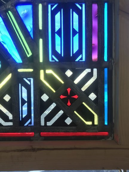 Religious Themed Stained Glass Window - 3