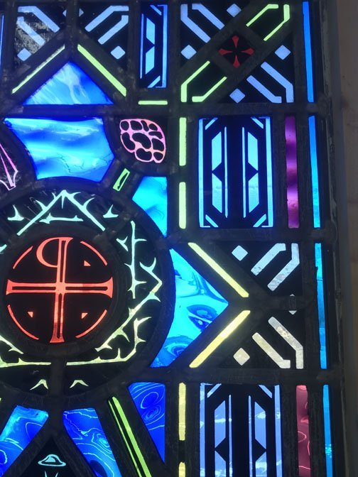 Religious Themed Stained Glass Window - 4
