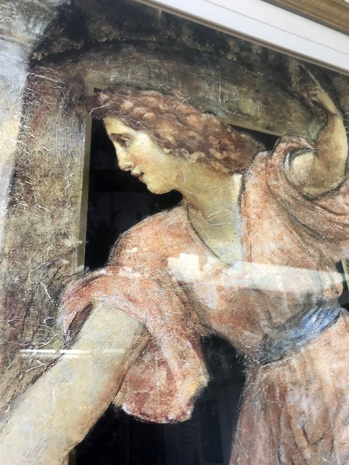 Framed Print of Greek Maidens - 2