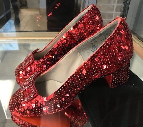 """Pair of """"Wizard of Oz"""" Ruby Slippers - 2"""