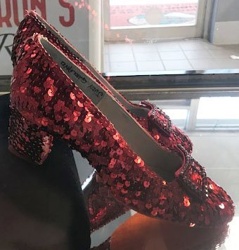"""Pair of """"Wizard of Oz"""" Ruby Slippers - 3"""