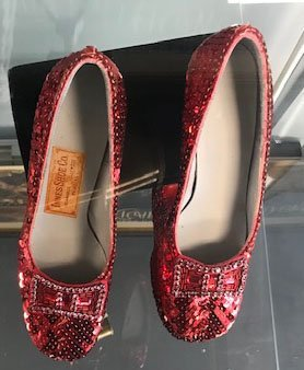 """Pair of """"Wizard of Oz"""" Ruby Slippers - 4"""