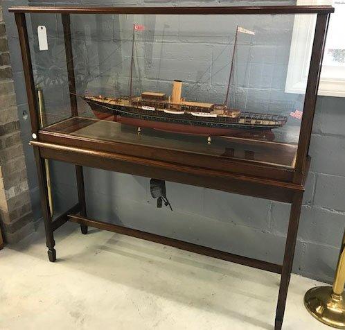"Model of American Steam Yacht ""Corsair"" - 2"