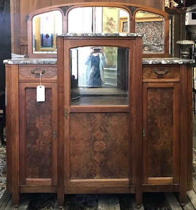 French Art Nouveau Buffet