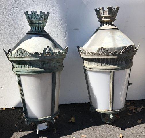French Lantern Heads