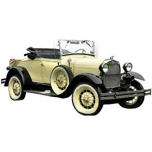 1930 Ford Model A by Shay-circa 1980