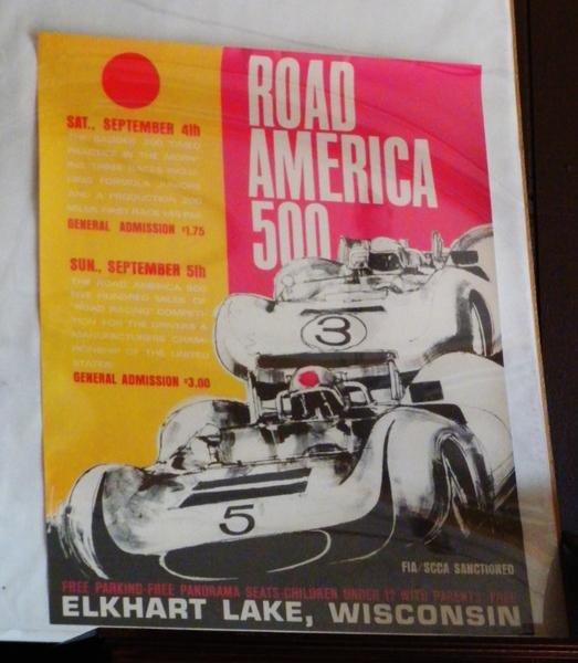 20: Road America 500 poster, Elkhart Lake