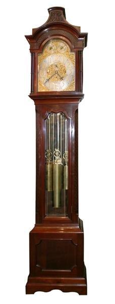 38: Tiffany and Co.  longcase  clock