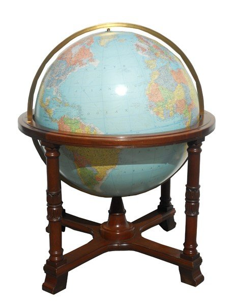 "11: ""The Diplomat Globe"" 32"" dia by Replogle"