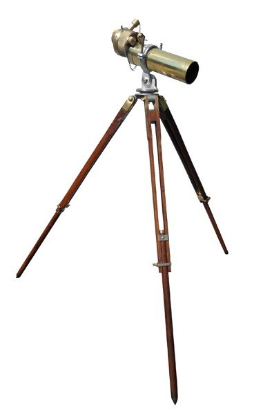 12: English Naval scope W. Ottway & Co, ltd