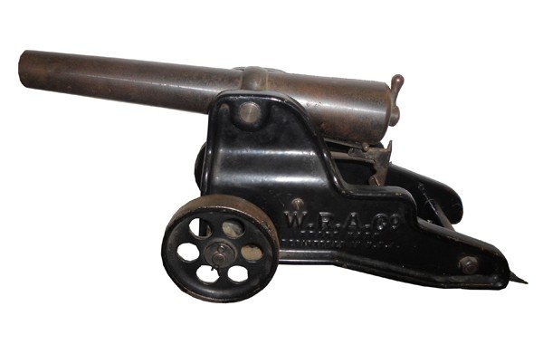 13: Winchester mini signal cannon in iron