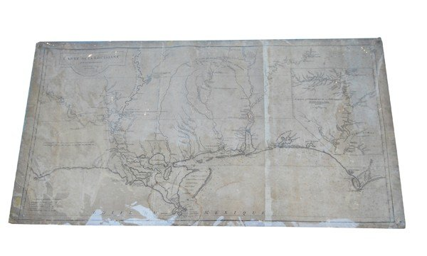 20: 1752 map of Louisiana