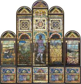 """52: Tiffany Studios """"Parable of the Sower"""""""
