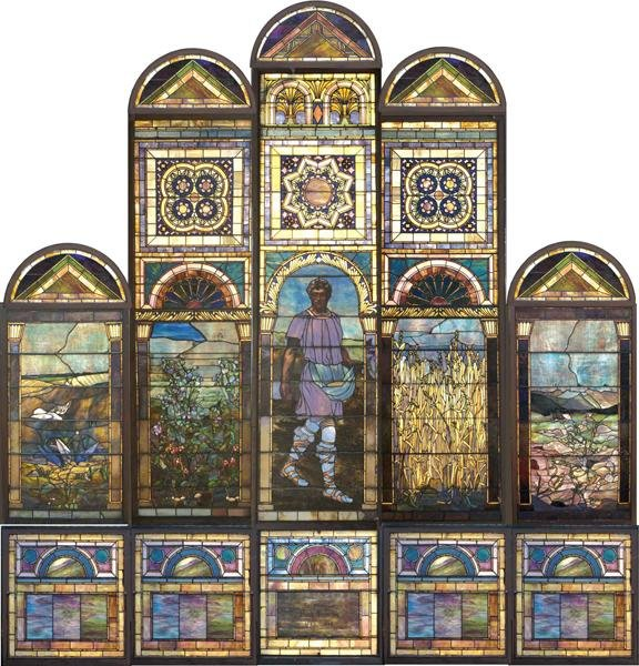 "52: Tiffany Studios ""Parable of the Sower"""
