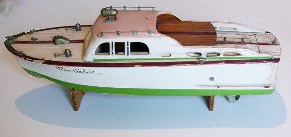 10: Toy Boat, Miss Sakura Johnston Island, South