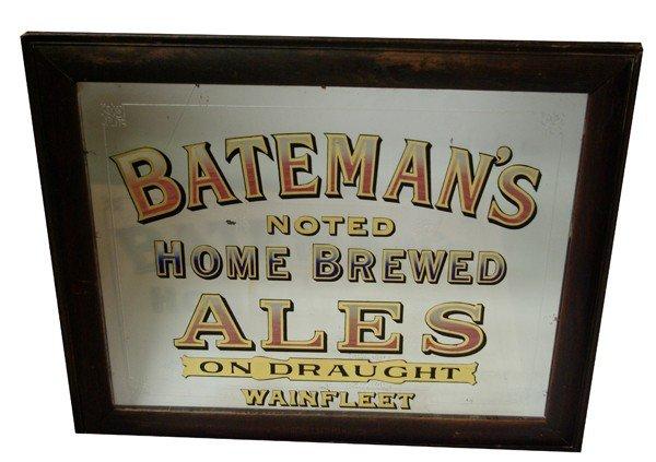 "21: Bateman's Alespub mirror, 27.5""h x 33""w"