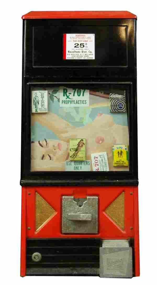 Original 1940's vending (condom) machine. 2.1