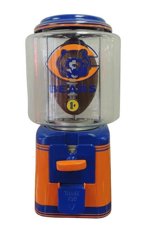 1: Chicago Bears Gumball Machine
