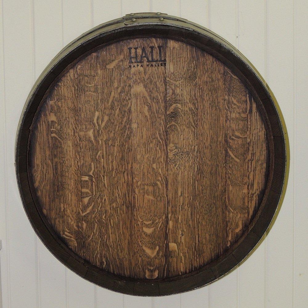 12: Original Oak Wine Barrel End