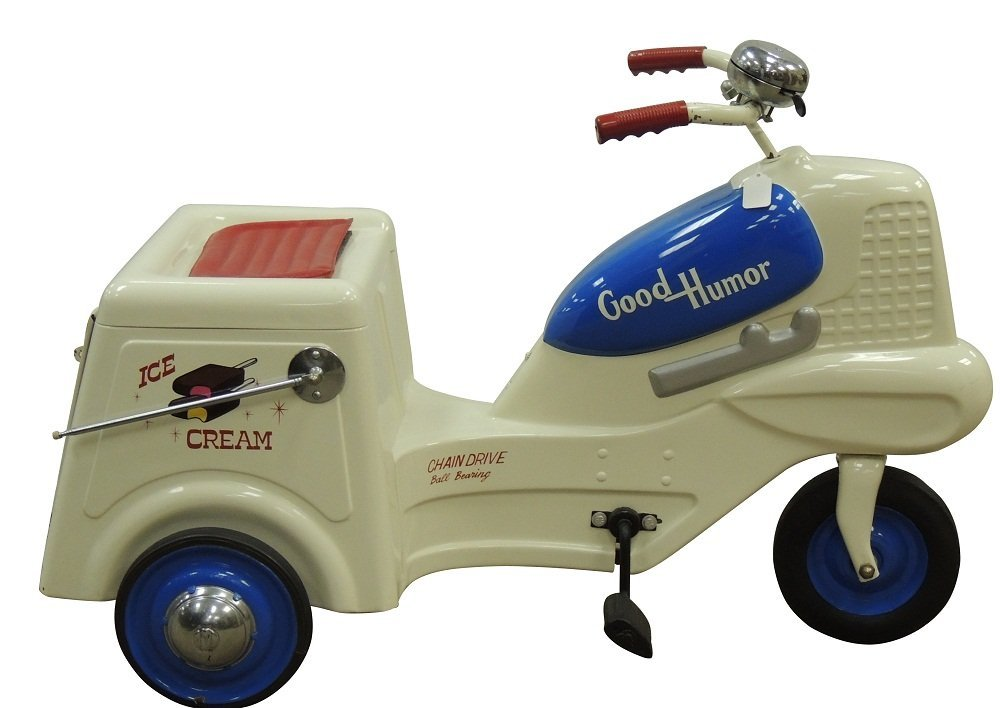 22: Vintage Good Humor Pedal Car with Bell